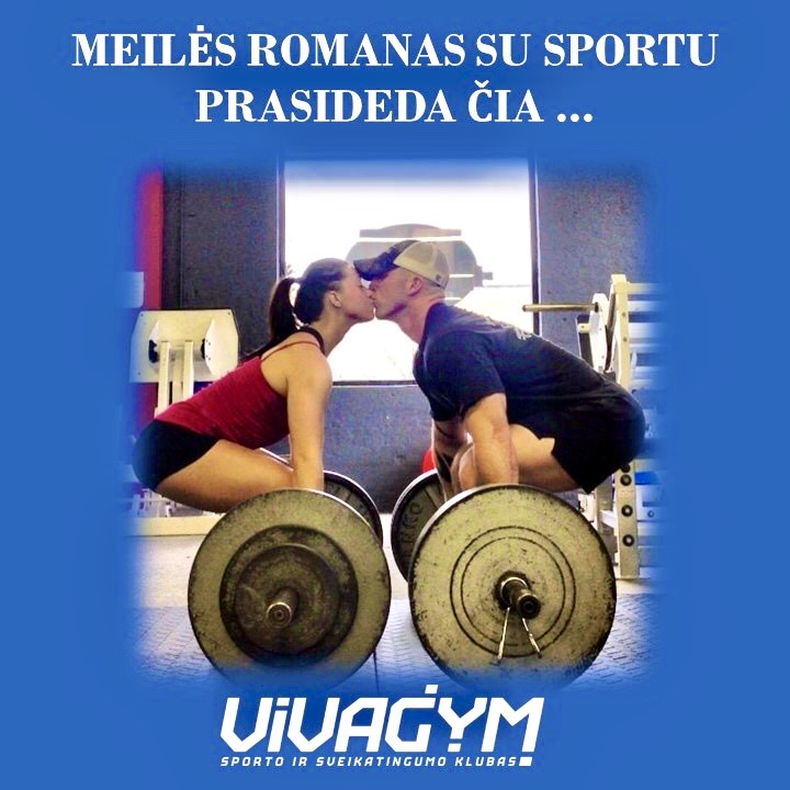 Meilės romanas su sportu prasideda čia